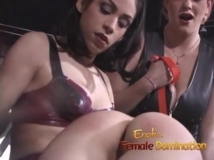 Sexy girl wakes up in the role of a sex slave