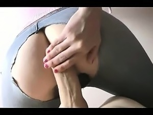 Pawg in ripped change creampie