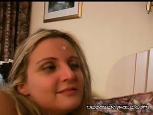Young Blondie Erika Gets Banged Real Hard