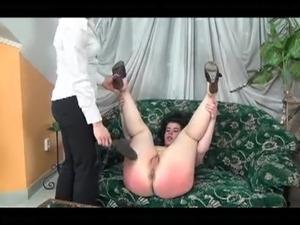 Spanking Chubby