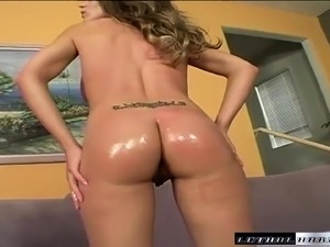 Lusty young sex kitten gives head and gets her hairless snatch drilled