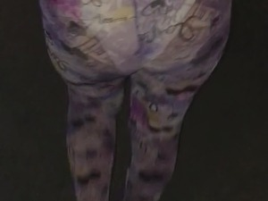 See through shear designer tights leggings walking