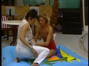 Lesbian Double Dildo