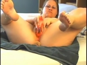 Homemade Dildo Masturbation