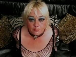 pvc maid hard throat fuck