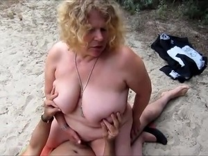 Wife fucking stranger on the beach