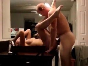 Flawless blonde getting her snatch eaten out and fucked on