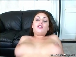 Cheating Housewife Tries BBC