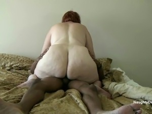 Pear shaped ass riding lesson