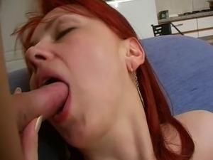 redhead mom Iren and Alex 2
