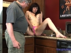 Cassidy Blanc - Kitchen sucking and fucking