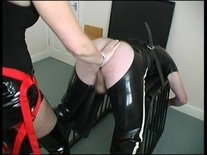 Strapon Mistress Pegging Slave