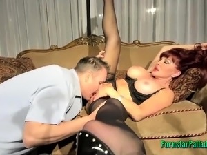 This mature woman sucks dick as crazy!