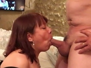 Mature Asian BlowJob - CFNM