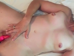 Hot MILF wife being sexy and slutty