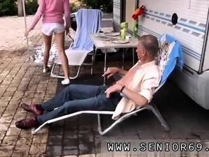 Old man pregnant To make things worse it has been raining al