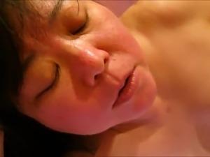 Chubby Asian amateur Wife