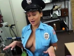 Big boobs Police fucked hard