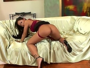 Yummy of Asian beauty named Jade Sin came from France and wants to entertains...