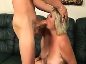 Fat Granny Wants Young Cock In Her Pussy