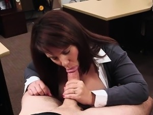 Busty and Milf gets her pussy hammered