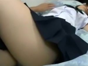 Schoolgirl Getting Her Nipples Sucked Pussy Fingered By Old Man While...