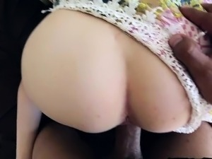 Horny girlfriend home blowjob