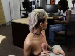 Boyfriend watch while fucking his girlfriend infront of him