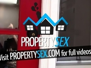 PropertySex Nudist Cece Capella Fucks Landlord