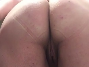 fat mature ass